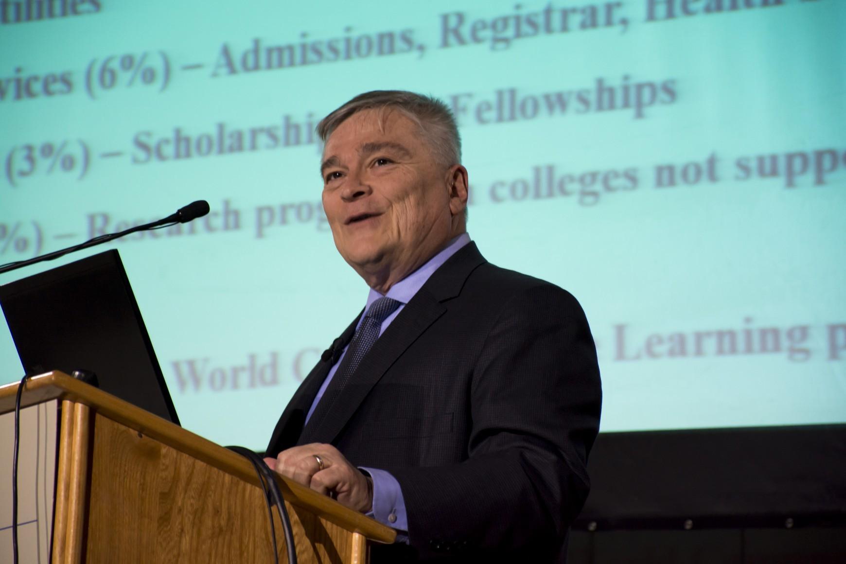 Alumni Trustees Ask For Legal Fees, President Barron Has