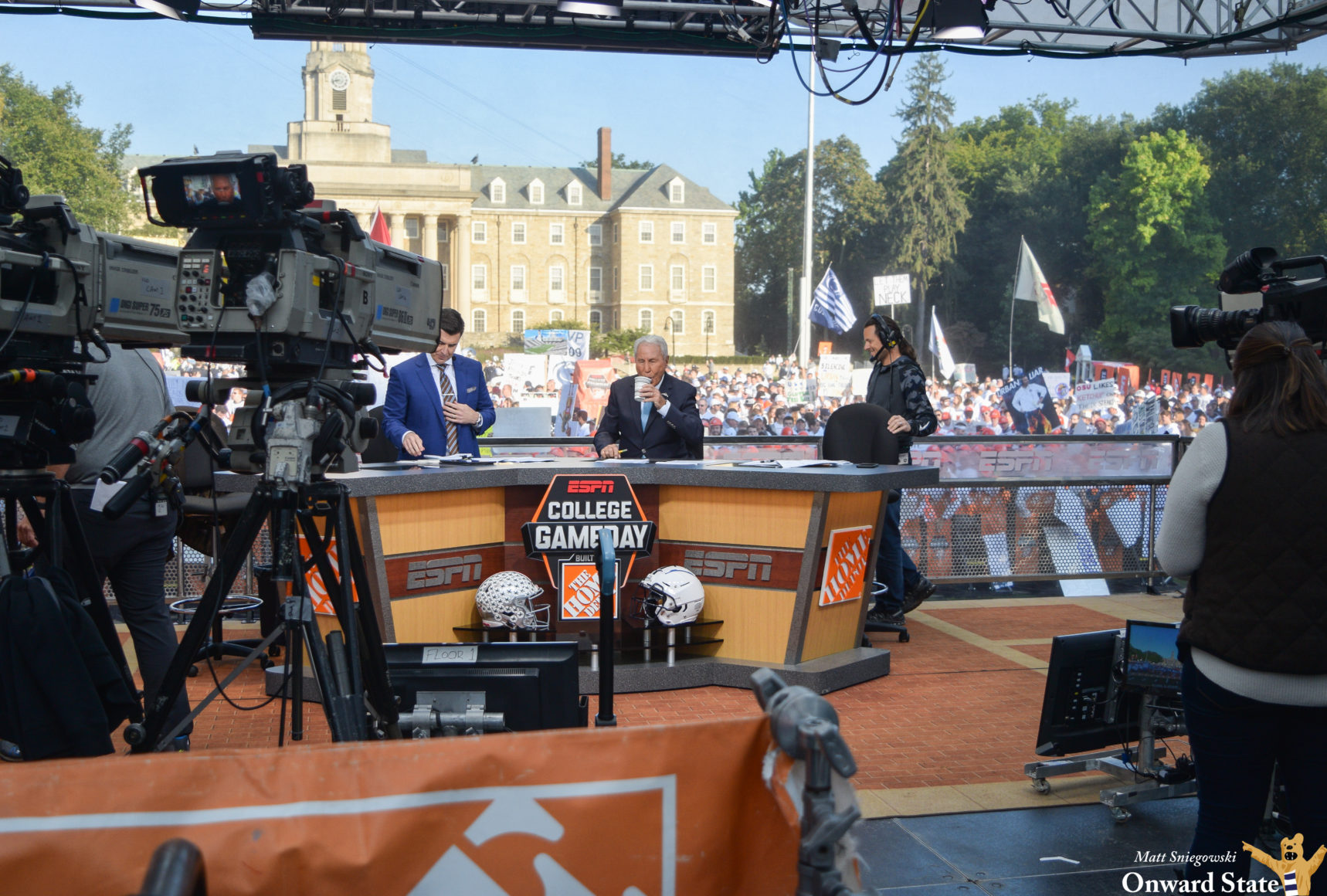 ESPN's College GameDay Returning To Happy Valley For Penn ...