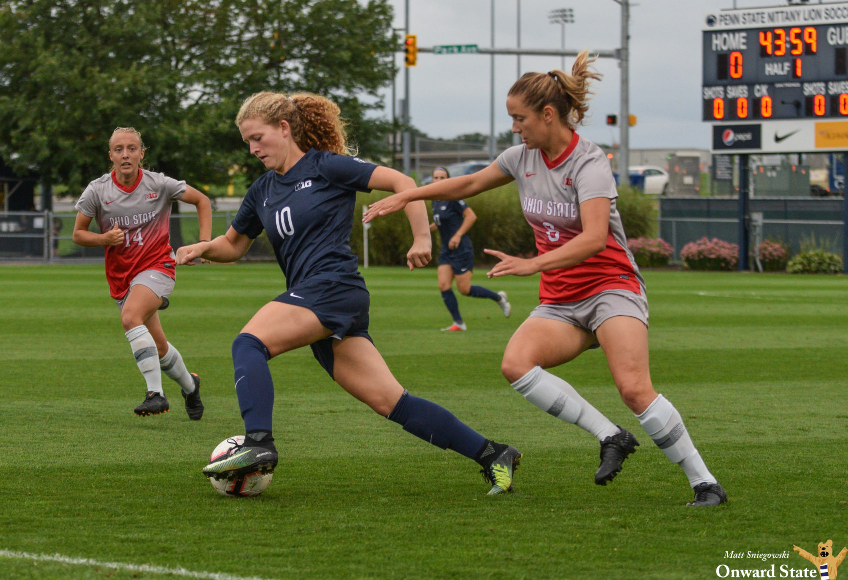 Penn State Women's Soccer Clinches Share Of Big Ten ...