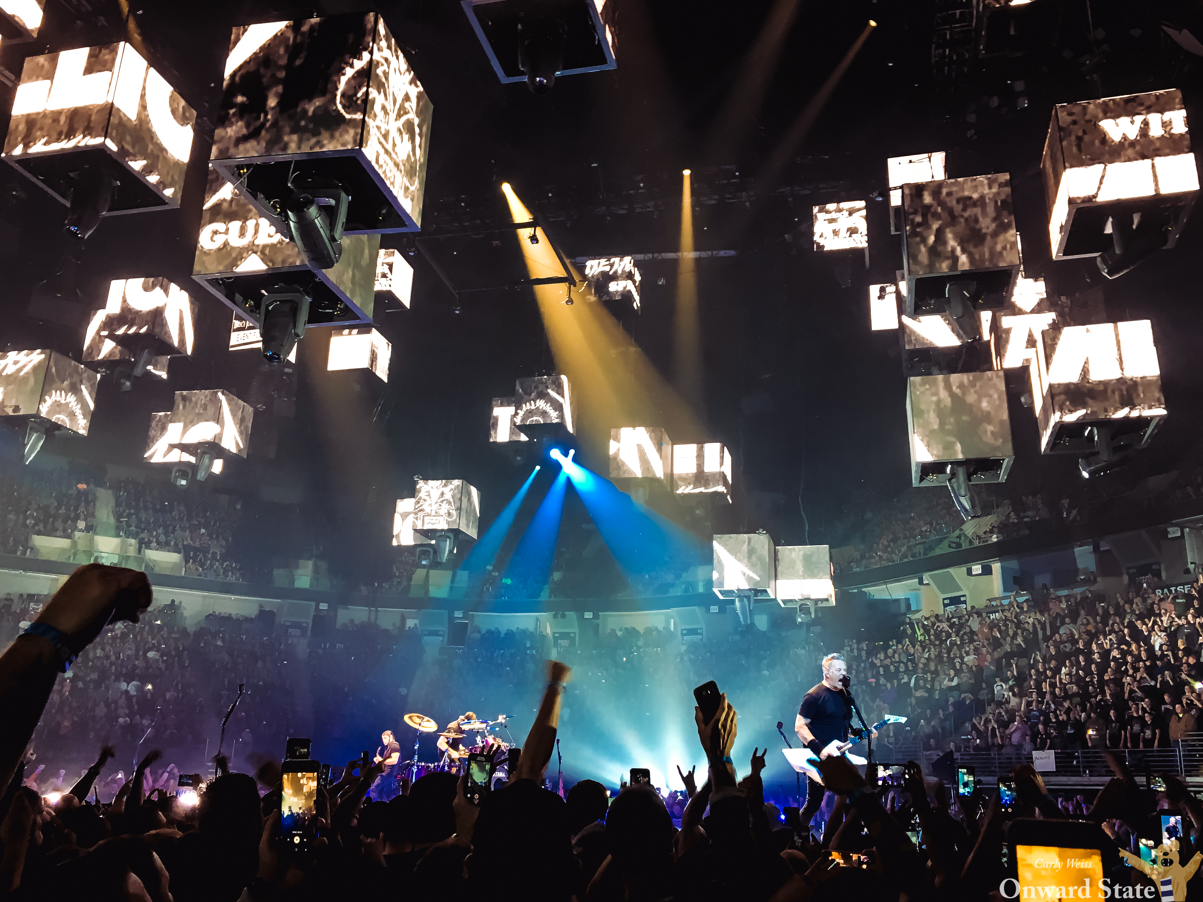 Metallica Shreds At The Bryce Jordan Center In Front Of A Record