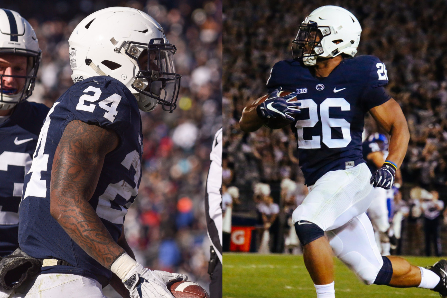 Miles Sanders, Saquon Barkley Reflect On Penn State Careers Before First NFL Reunion