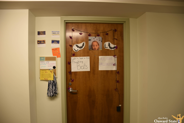 The Best Halloween Dorm Door Decorations Onward State