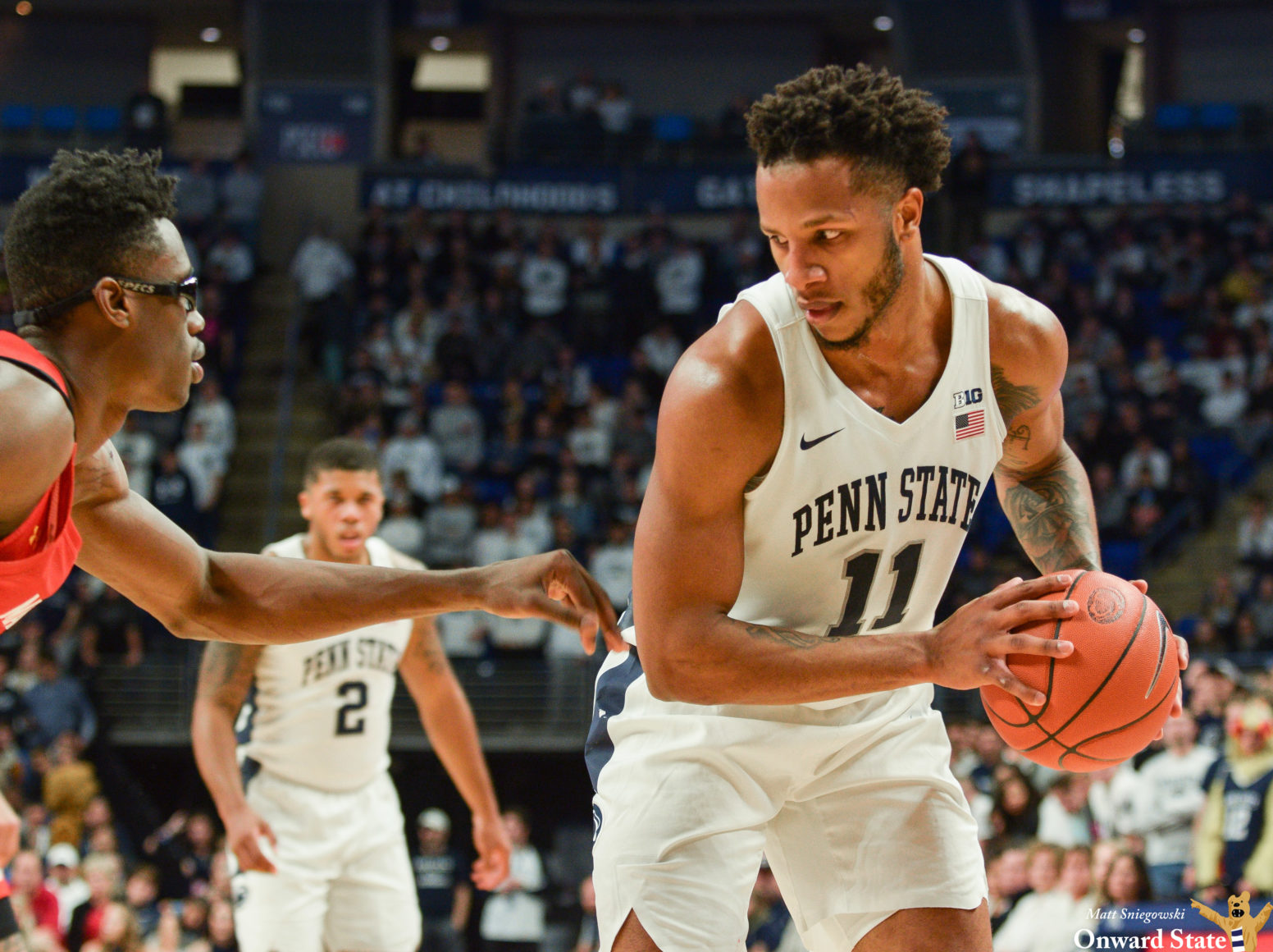 Lamar Stevens' Consistency The Key In Penn State Hoops' Upset Over Maryland
