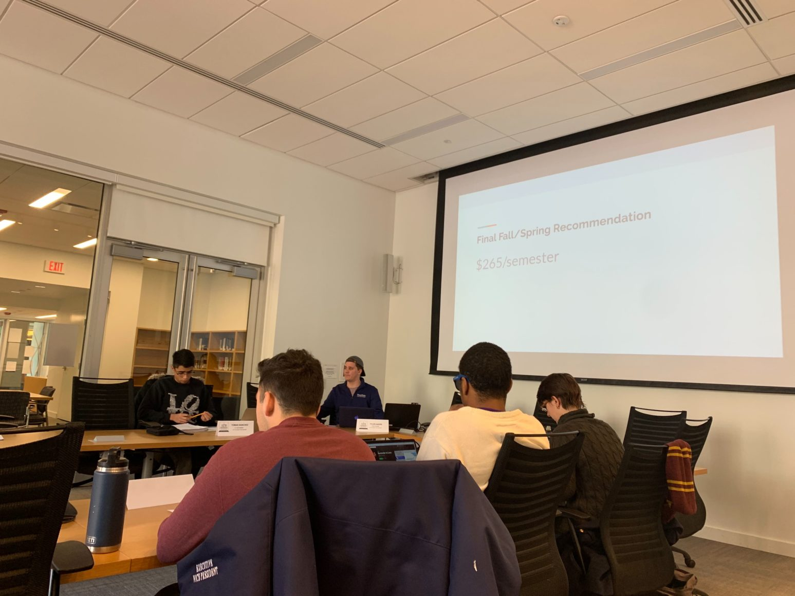 Student Fee Board Recommends Flat $265 Per Semester Student Fee For 2020-2021